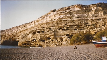 Caves of Matala, Crete