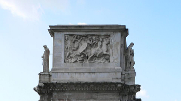 Side View, Arch of Constantine