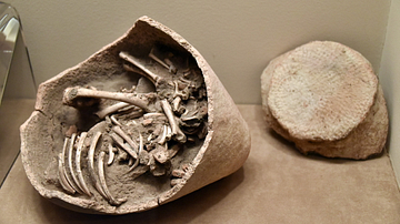 Infant Burial from Tulaylat al-Ghassul