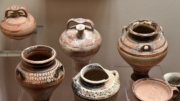 Mycenaean Pottery Vessels from Jordan