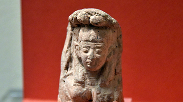 Pottery Figurine from Tell al-Sa'idiyya