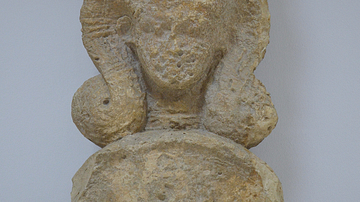 Cypriot Capital with the Image of Hathor