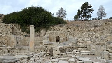 Nymphaeum in the Agora of Amathous, Cyprus