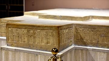 Throne Dais of Shlamaneser III at the Iraq Museum