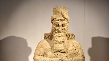 Statue of Nabu from Nimrud