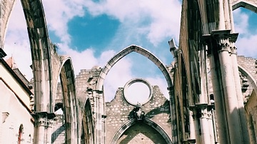 Ruins of The Church of Santa Maria do Carmo