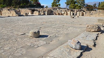 Central Courtyard, Phaistos, Crete
