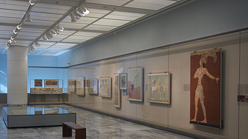 Rooms of Minoan Frescoes, Heraklion Archaeological Museum