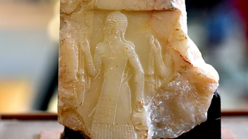 Akkadian Soldier on Naram-Sin Victory Stele from Wasit
