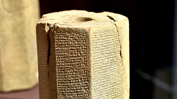 Octagonal Prism of Sennacherib from Nineveh