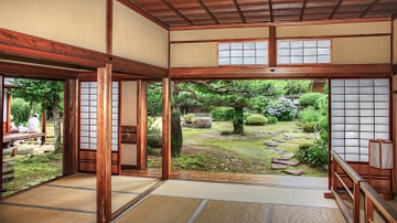 A Traditional Japanese Interior