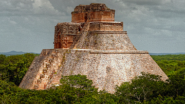 Uxmal's Pyramid of the Magician