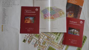 Official Guides & Maps of Pompeii, Boscoreale, Oplontis and Stabiae