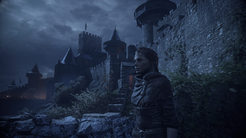 Ramparts of a Medieval City in A Plague Tale: Innocence
