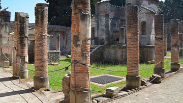 The Temple of Isis in Pompeii