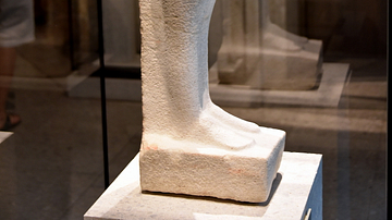 Unfinished Statue of Akhenaten