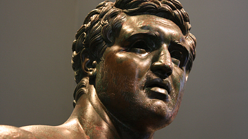 The Hellenistic Prince (Detail)