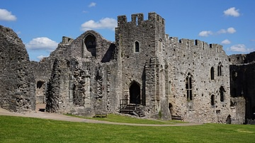 Great Hall & Lesser Hall, Chepstow Castle