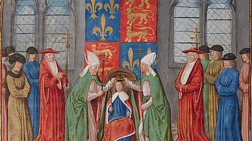 Coronation of Henry VI of England in Paris