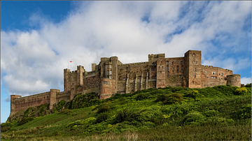 West View of Bamburgh Castle