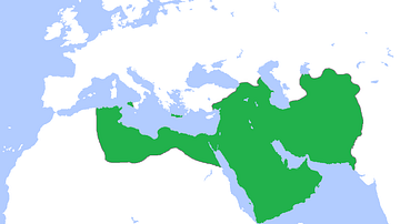 Map of the Abbasid Empire