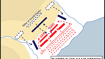 Battle of Marathon, 490 BCE