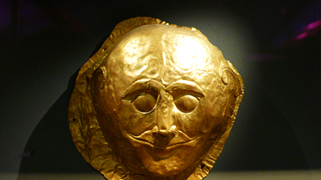 Mycenaean Death Mask