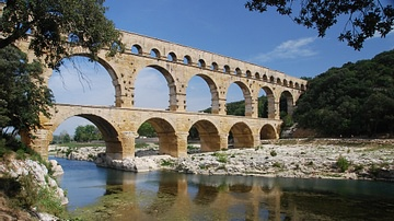 The Roman Aqueduct of Pont du Gard