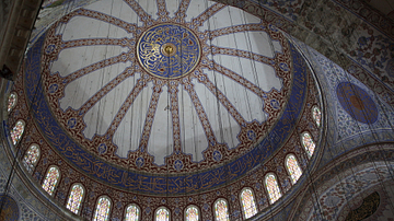 Interior Dome, Blue Mosque, Istanbul