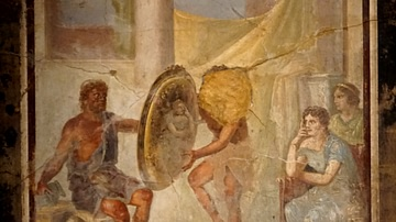 Hephaestus Offers Thetis the Armor of Achilles