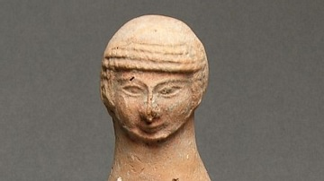 Judean Pillar Figurine Found in Lachish