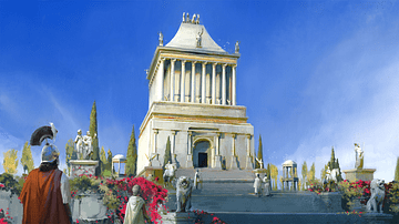 Mausoleum at Halicarnassus (Artist's Impression)