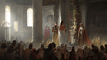 Wedding in Renaissance Rome (Artist's Impression)