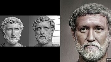 Antoninus Pius (Facial Reconstruction)