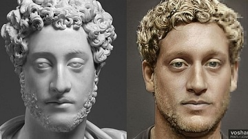 Commodus (Facial Reconstruction)