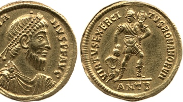 Gold Coin of Julian the Apostate