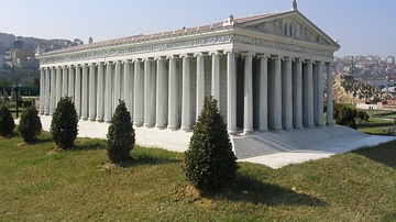 Model of the Temple of Artemis