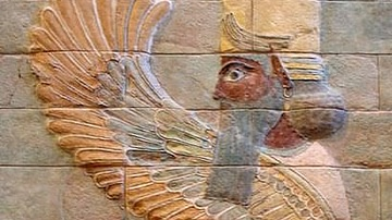 Winged Sphinx of Susa