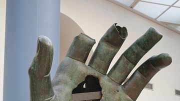 Colossal Bronze Hand of Constantine I