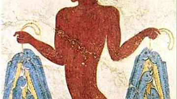 Fisherman Fresco, Akrotiri