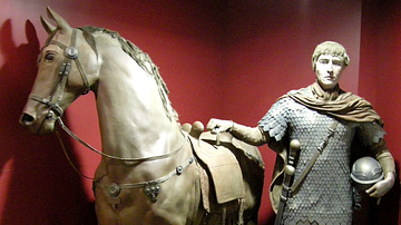 Roman Cavalryman Reconstruction