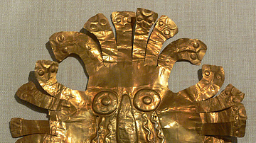 Nazca Gold Mask