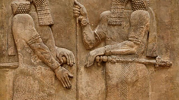 Sargon II Wall Relief