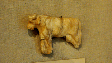 Bull Inlay from Sumer