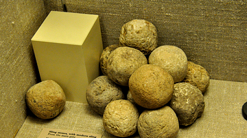 Sling stones from Lachish