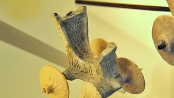 Votive Toy from the Archaic Buildings of the Ishtar Temple
