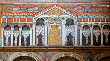 Palace of Theodoric Mosaic