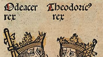 Nuremberg Chronicle (Theodoric and Odoacer)