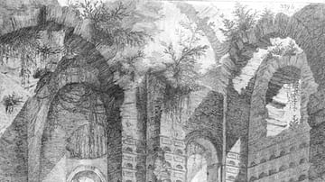Giovanni Battista Piranesi: Etching of a Columbarium