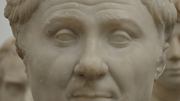 Pompey Marble Bust